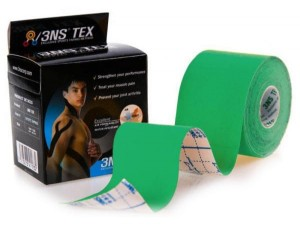 Taśma 3NS do tapingu kinesiology tape plastry tejpy - zielony